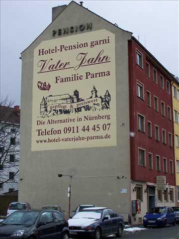 Nürnberg-Steinbühl: Hotel Pension garni VaterJahn Parma