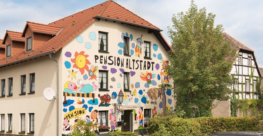 Borna: Pension Altstadt