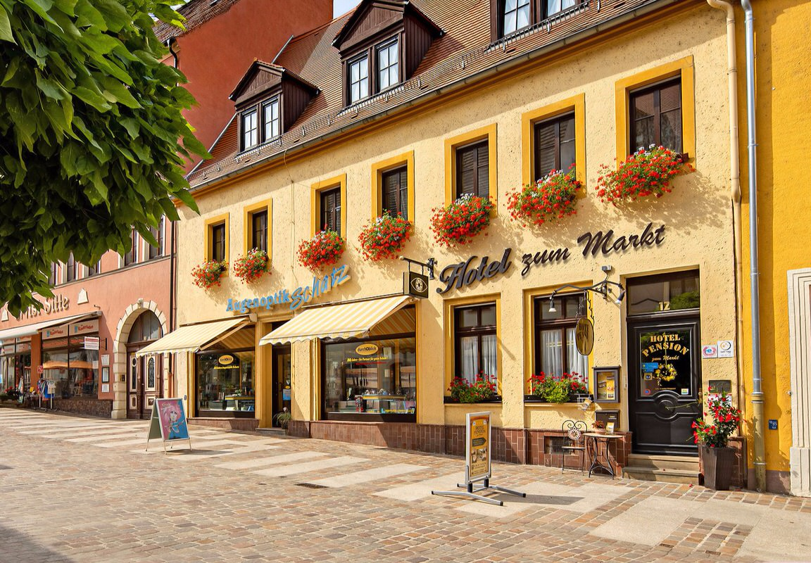 Pension Zum Markt, Pension in Torgau bei Hachemühle
