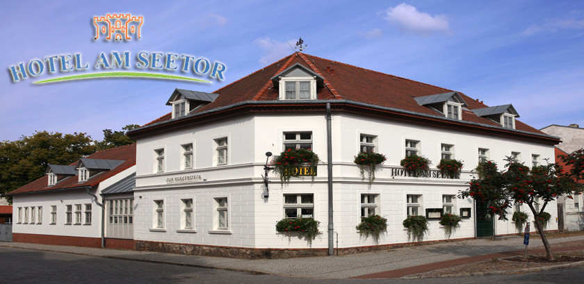 Hotel Am Seetor in Angermünde