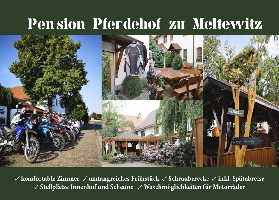 LandPension Pferdehof zu Meltewitz, Pension in Lossatal bei Bockelwitz