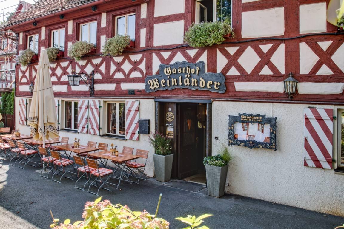 Nürnberg-Kleinreuth b Schweinau: Pension Gasthof Weinländer