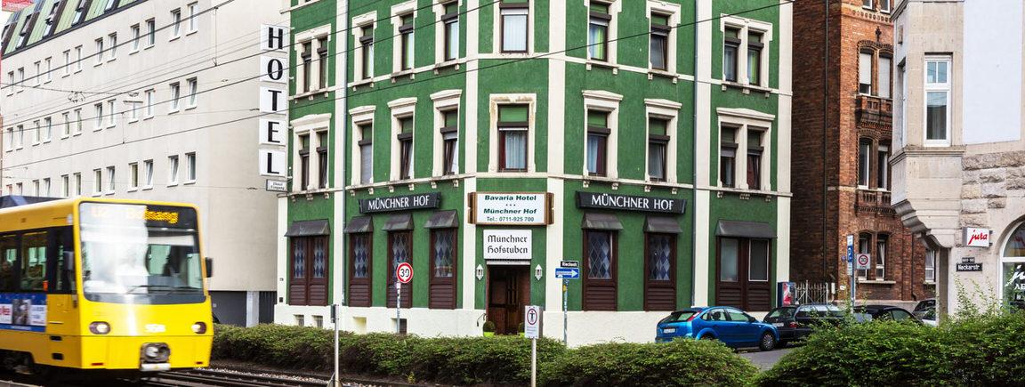 Stuttgart:  Bavaria-Hotel Münchner Hof