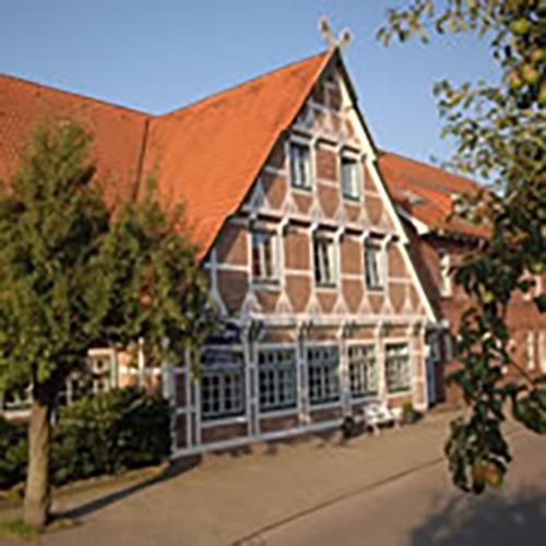 Altes Land , Pension in Jork bei Hamburg
