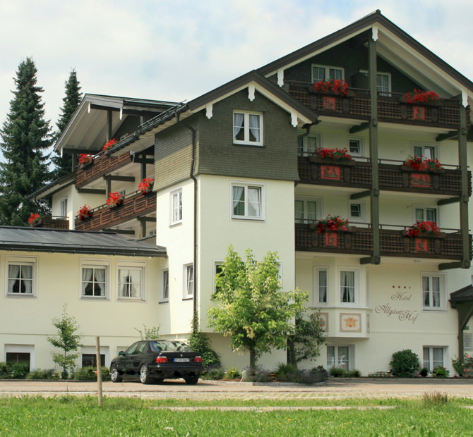 Oberstaufen: Hotel Allgäuer Hof