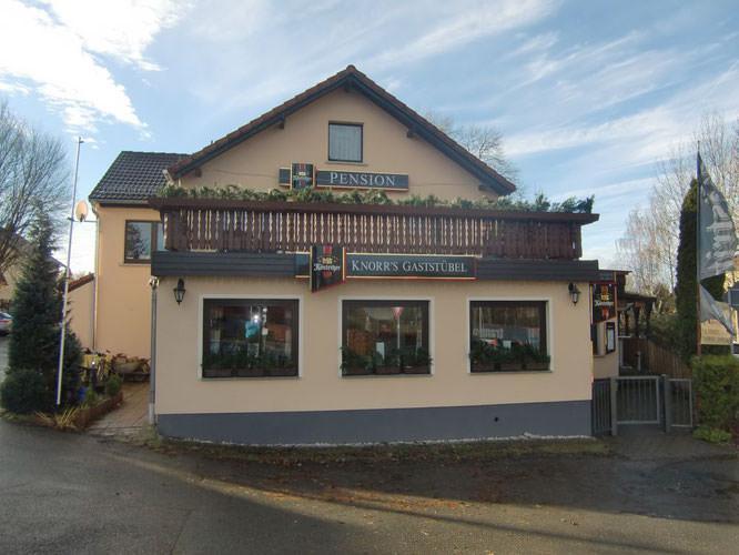 Pension Knorr's Gaststübel, Pension in Großenstein bei Braunsbedra
