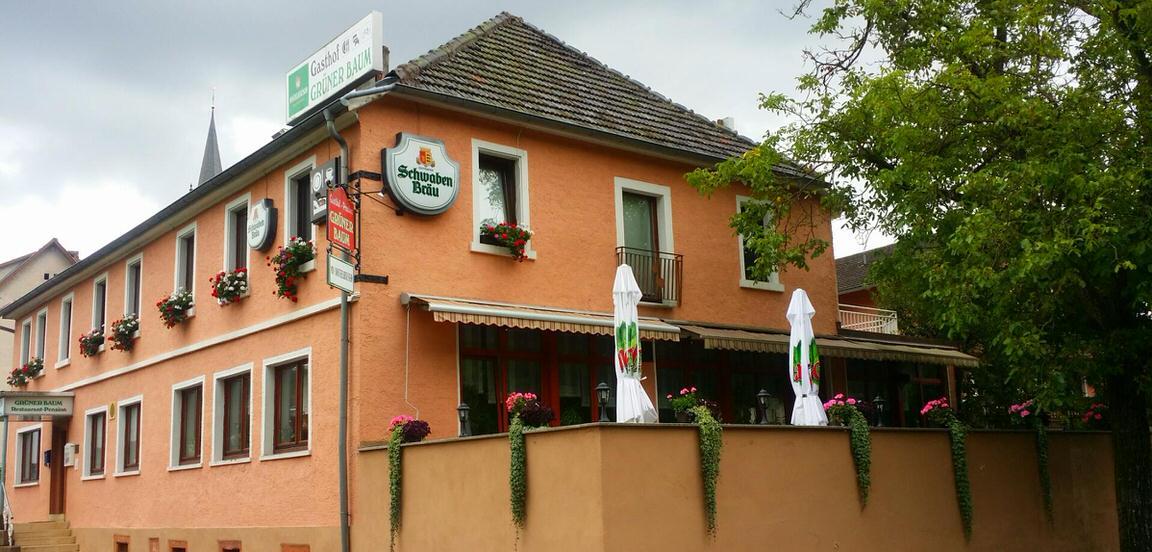 Grüner Baum, Pension in Neckargerach bei Lobbach