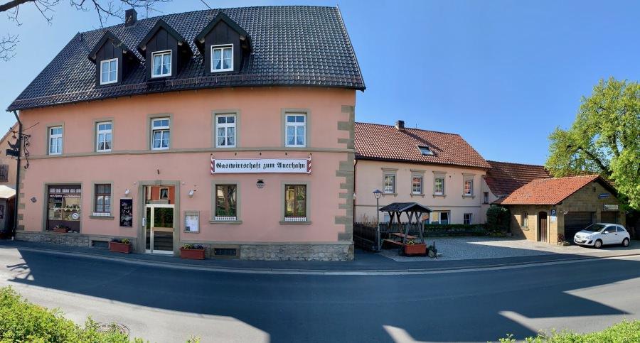Gasthof Metzgerei Zum Auerhahn, Pension in Werneck bei Niederwerrn