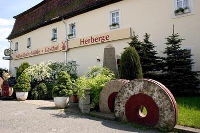 Gasthof Herberge Holländische Mühle, Pension in Schkeuditz bei Bad Dürrenberg