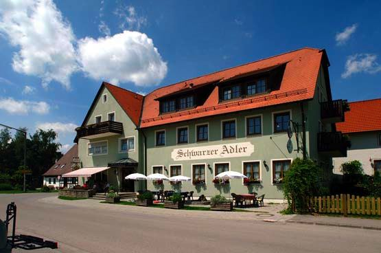 Landgasthof Schwarzer Adler, Pension in Diebach bei Rothenburg ob der Tauber