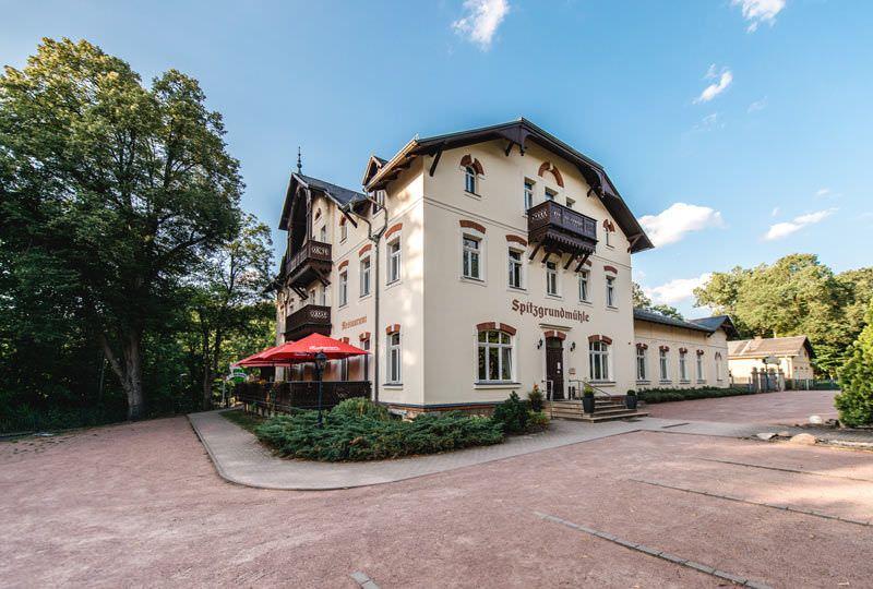 Historische Spitzgrundmühle, Pension in Coswig bei Radeburg