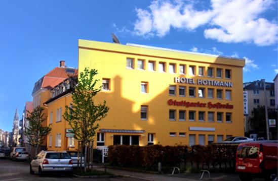 Stuttgart-Heslach:  Hotel Hottmann