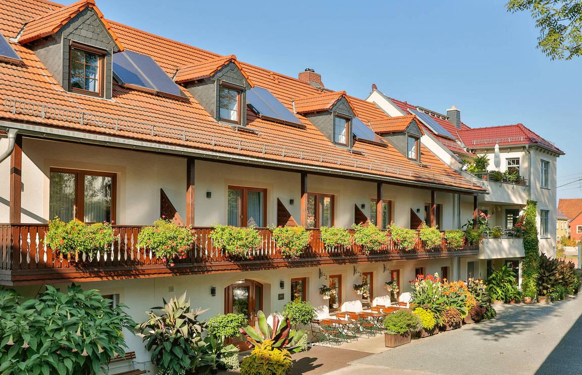 Moritzburg: Hotel Garni Sonnenhof