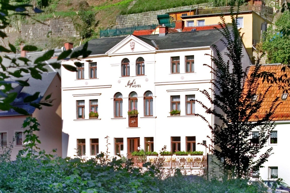 Bad Schandau: Hotel Garni Sigl's