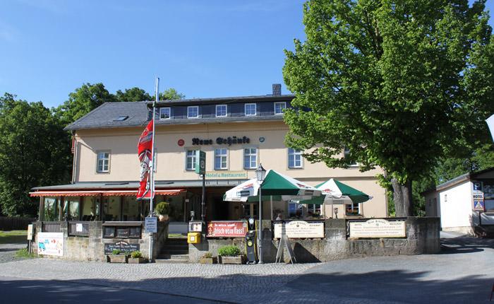 Landgasthof Neue Schänke, Pension in Königstein bei Doberzeit