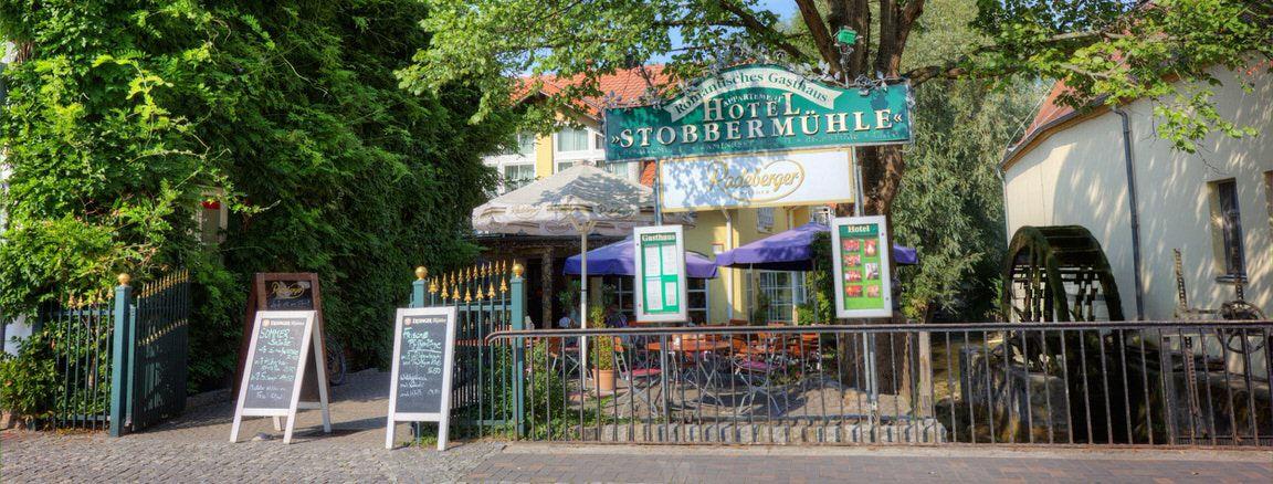 Buckow: Hotel Romantisches Gasthaus Stobbermühle