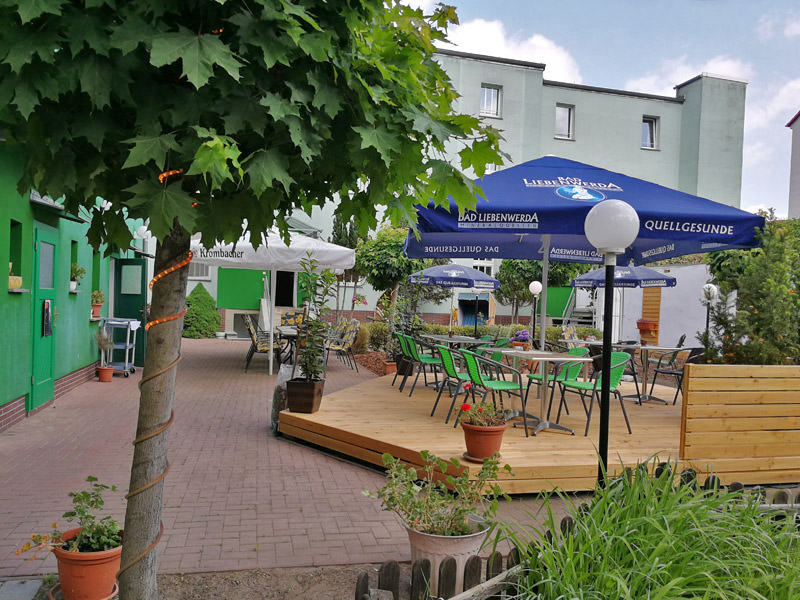 Ahorn  & Restaurant, Pension in Cottbus-Spremberger Vorstadt bei Kolkwitz