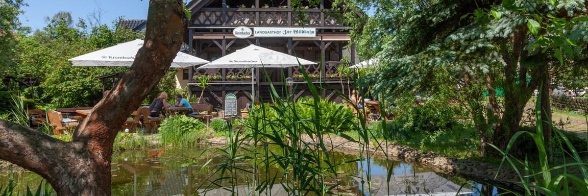 Landgasthof Zur Wildbahn in Burg
