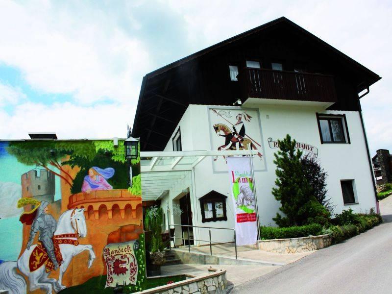 Gasthof Ritterschänke Burg Randeck, Pension in Essing
