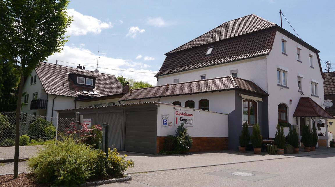 Gasthof Zum Ochsen, Pension in Nordheim Württ. bei Heilbronn