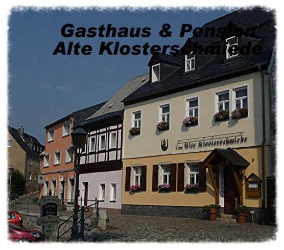 Pension & Gasthaus Alte Klosterschmiede, Monteurzimmer in Grünhain-Beierfeld bei Thum