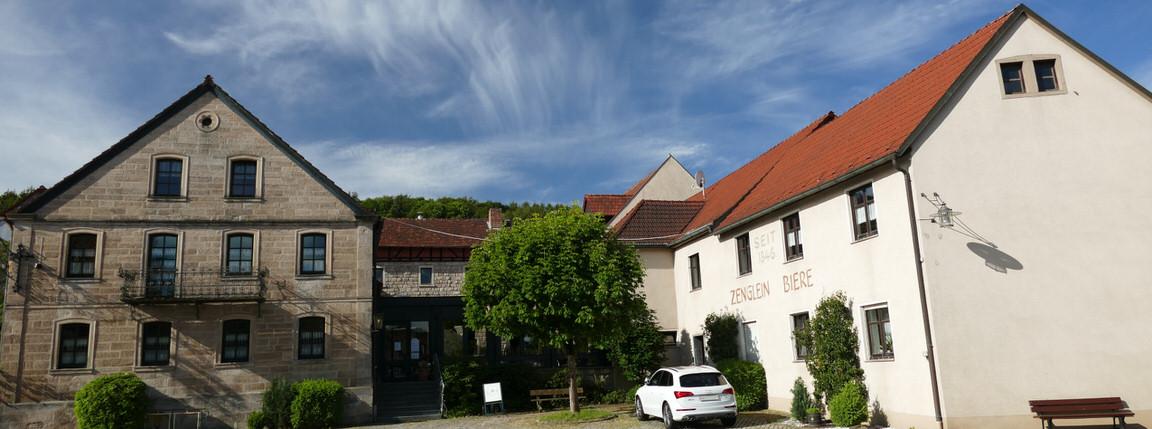 Gasthof Zenglein Brauerei, Pension in Oberaurach-Oberschleichach bei Donnersdorf
