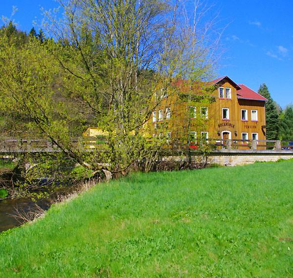 Gästehaus Bockmühle, Pension in Hohnstein-Cunnersdorf bei Porschendorf