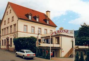 Gasthof Krone - Restaurant & Pension, Pension in Neckargemünd bei Schwarzach