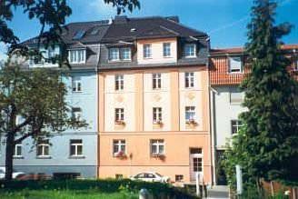 Weimar: Pension 18 über dem Goethepark