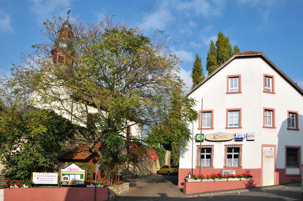 Landgasthof Kirschgarten, Pension in Wackernheim bei Vendersheim