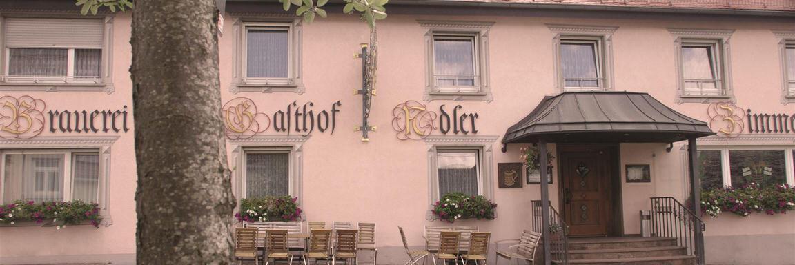 Hotel & Brauerei-Gasthof Adler in Herbertingen-Hundersingen
