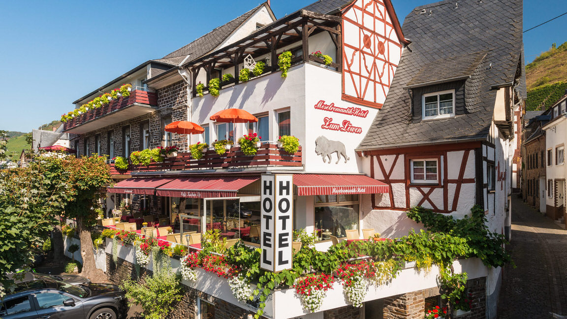 Moselromantik- Zum Löwen, Pension in Ediger-Eller