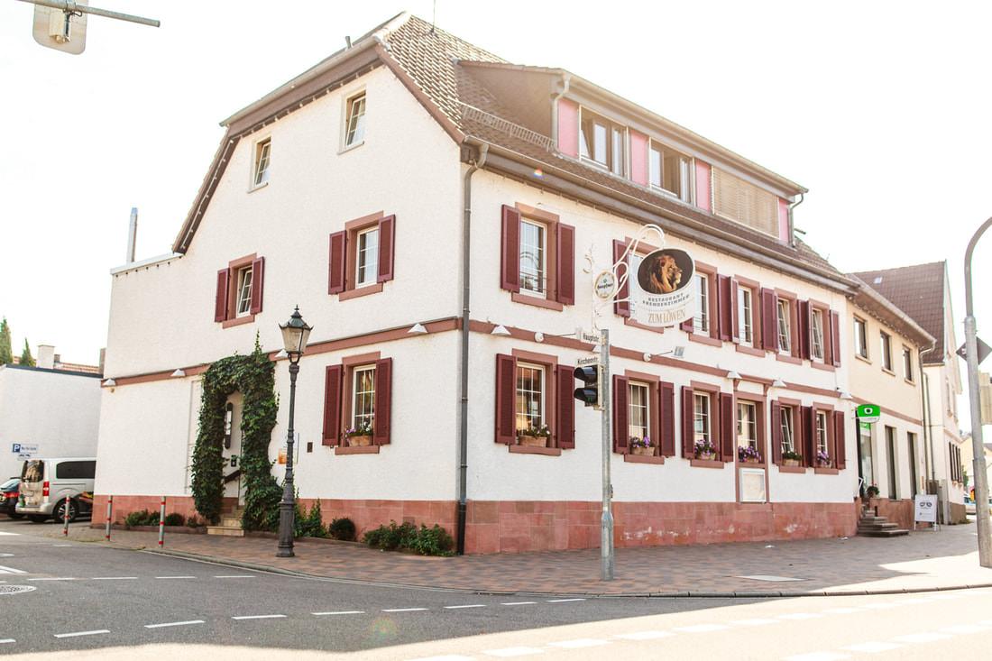 garbo zum Löwen Restaurant und , Pension in Eggenstein-Leopoldshafen bei Karlsruhe