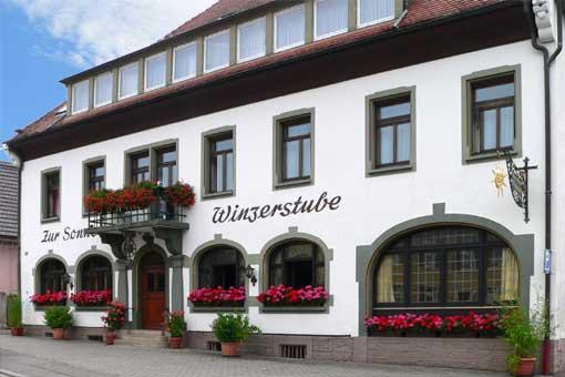 Ehrenkirchen-Kirchhofen: Pension Zur Sonne - Winzerstuben