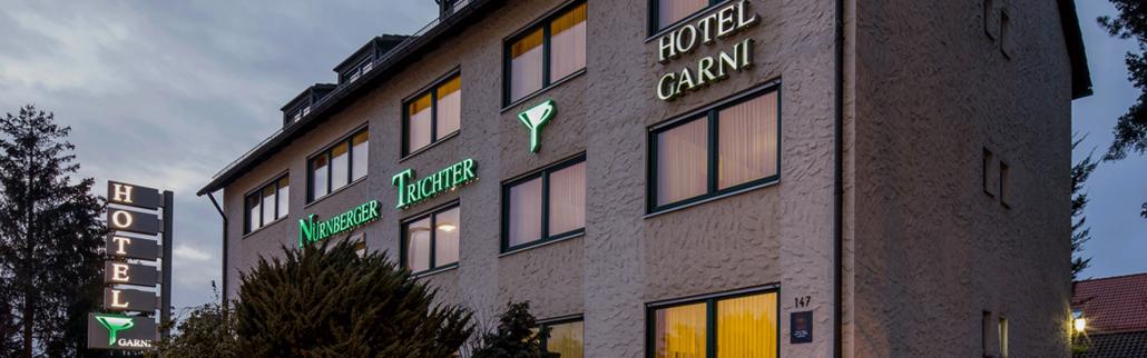 Nürnberg-Altenfurt: Hotel Garni Nürnberger Trichter