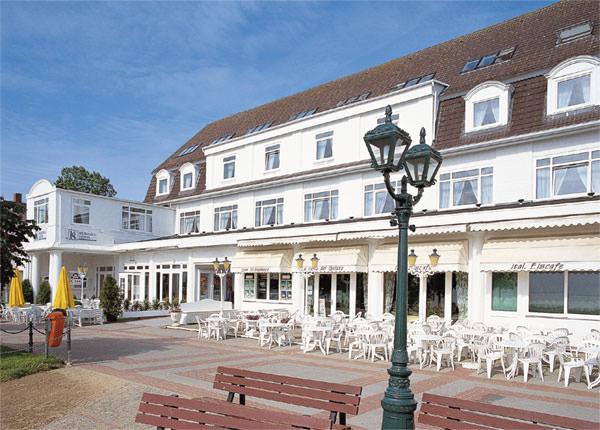 Wyk auf Föhr: Hotel Garni Kurhaus