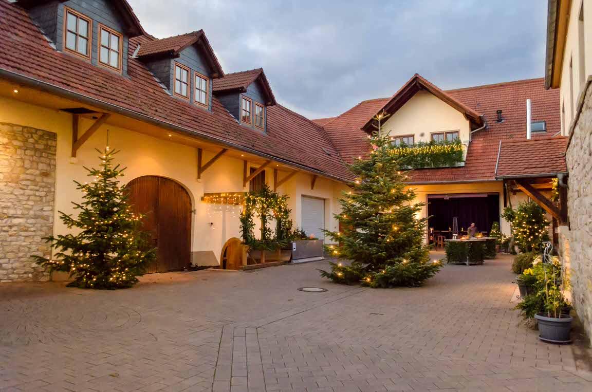 Landhotel-Weingut Ellernhof in Lonsheim