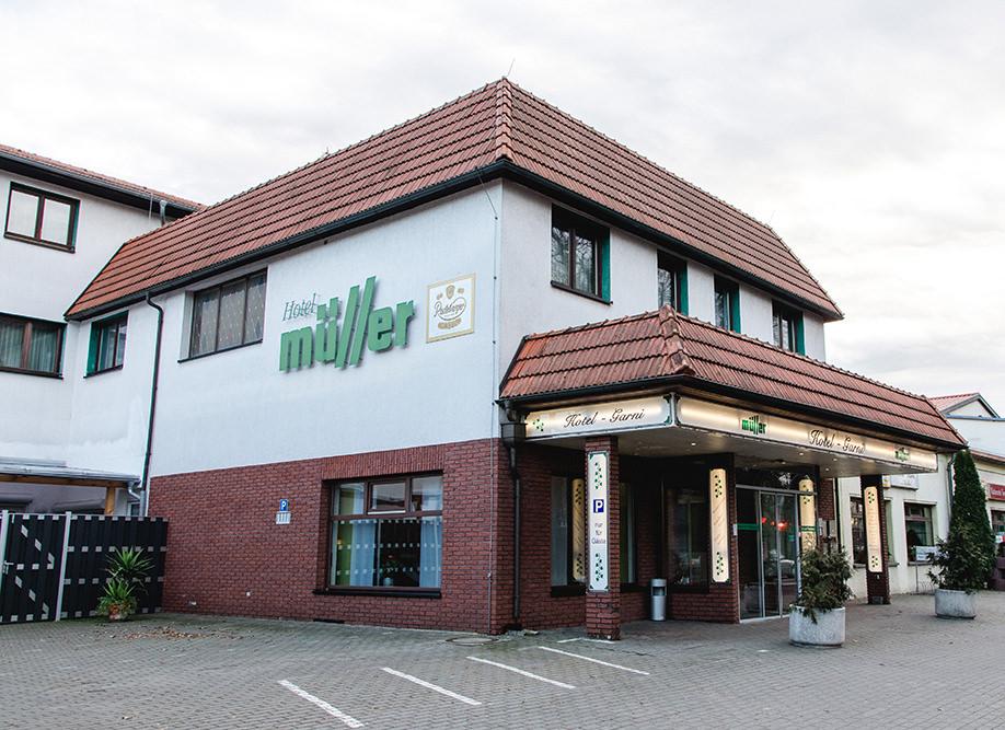 Hotel Müller, Hotel in Genthin bei Magdeburg