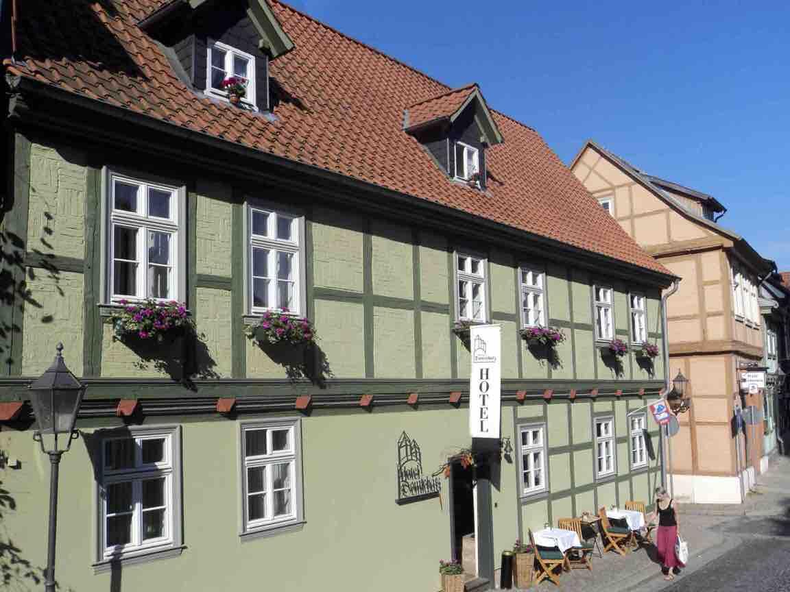 Quedlinburg: Hotel Garni Domschatz