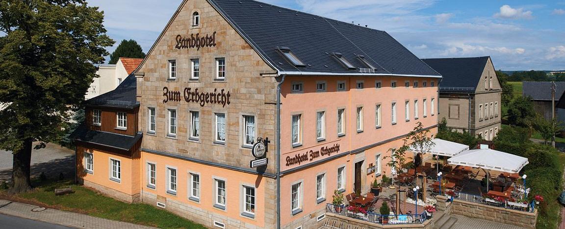 Landhotel Zum Erbgericht, Pension in Stolpen bei Porschendorf