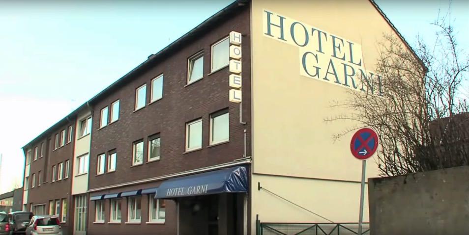 Hotel Garni am Bahnhof, Monteurzimmer in Moers bei Duisburg