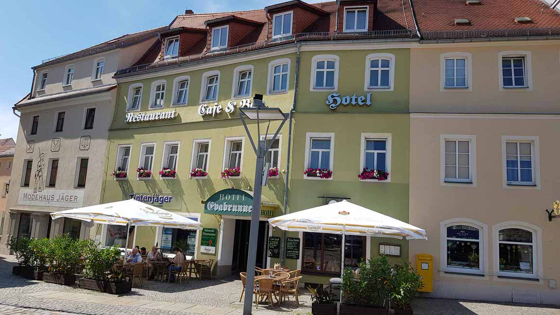 Evabrunnen, Pension in Bischofswerda bei Pilsach