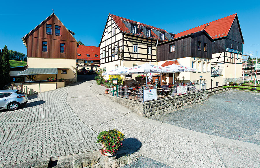 Pension Zur Alten Säge, Pension in Stadt Wehlen bei Porschendorf