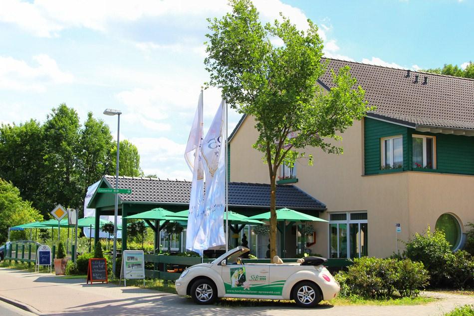 Spreewald-Hotel Seerose in Burg