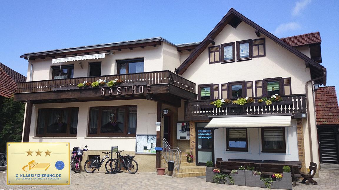 Landgasthof und Pension Zum Löwen, Monteurzimmer in Bischofsheim bei Gochsheim