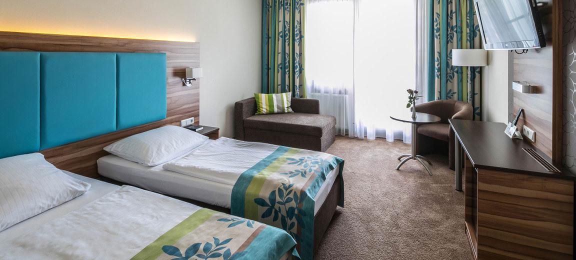 Olching: Hotel Garni Am Krone Park