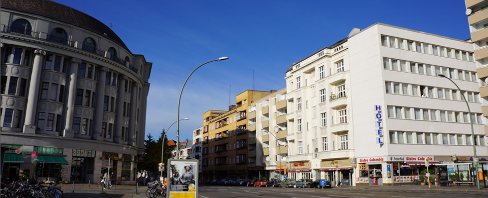 Columbia City-, Pension in Berlin-Kreuzberg bei Schönefeld