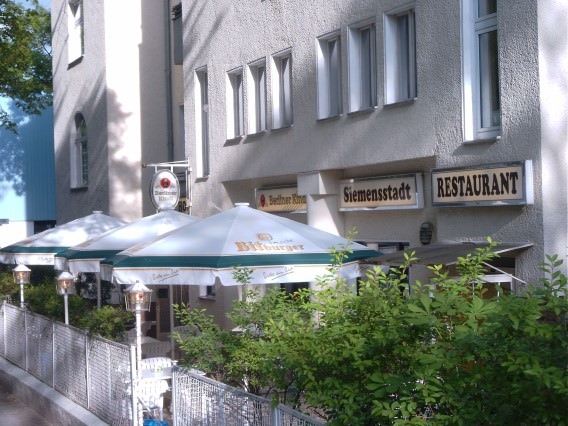 Siemensstadt, Pension in Berlin-Siemensstadt bei Brieselang