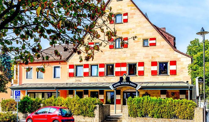 Wilder Mann, Pension in Rückersdorf