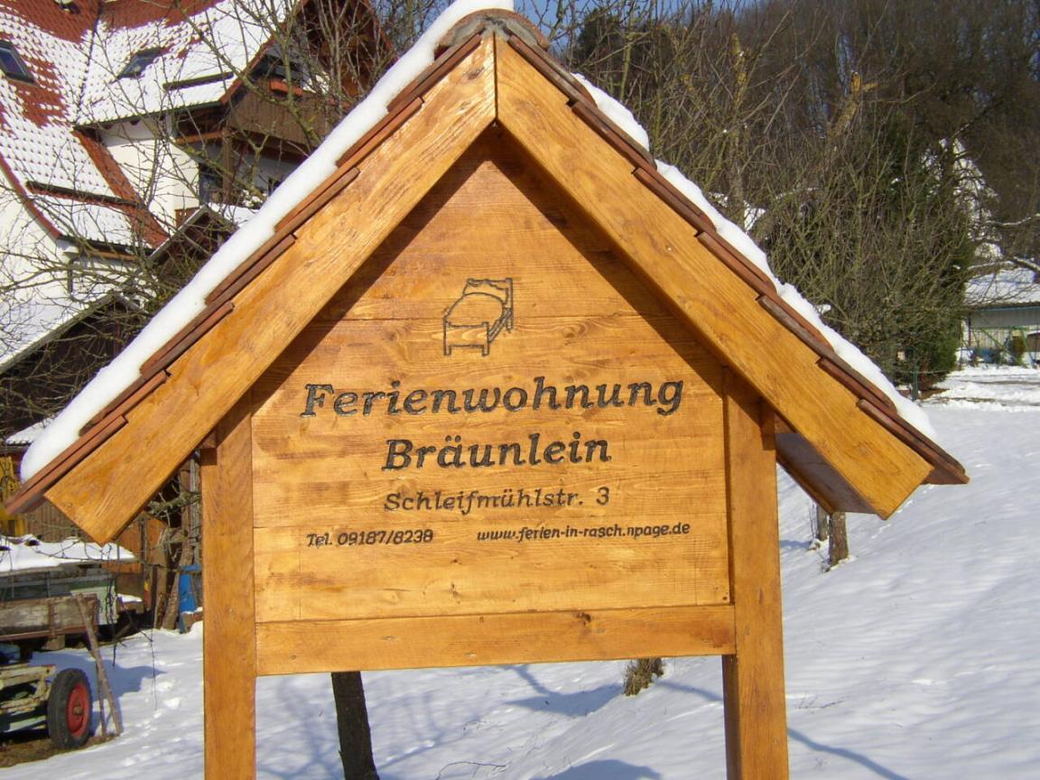 Altdorf b. Nürnberg: Ferienwohnung Familie Bräunlein